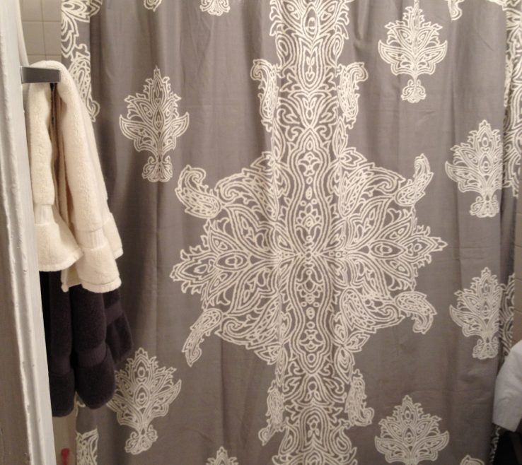 Captivating High End Shower Of Bathroom Luxury Curtains With Elegant Curtains Brown
