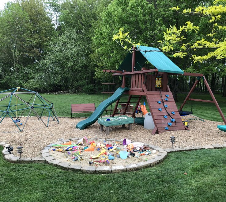Captivating Ideas For Playgrounds Of The Diy Playground With Sandbox I Built