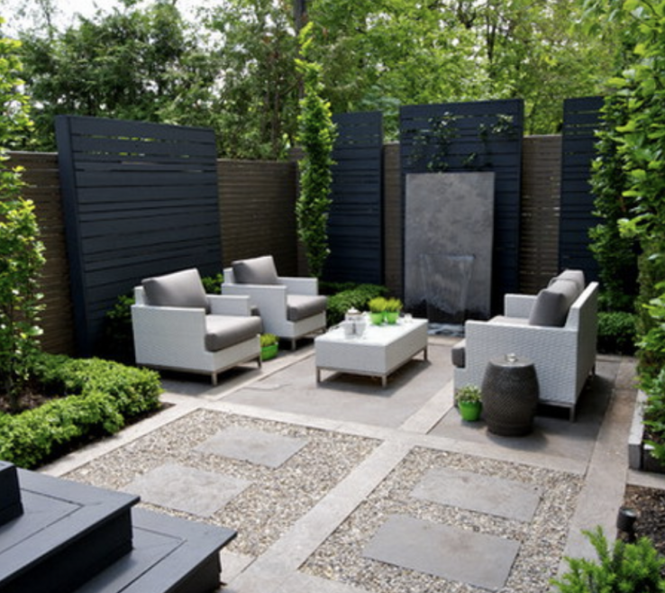 Captivating Ideas For Yard Privacy Of Backyard Landscaping
