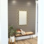Captivating Modern Accent Wall Ideas Of Painted Shiplap In Hallway Super Stylish