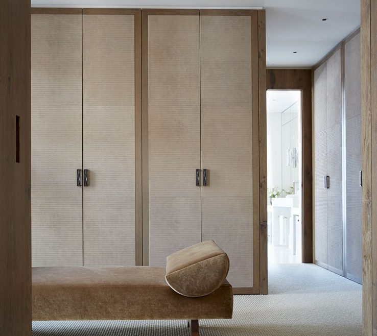Captivating Modern Closet Doors Of Apartment In St Moritz By Todhunter Earle