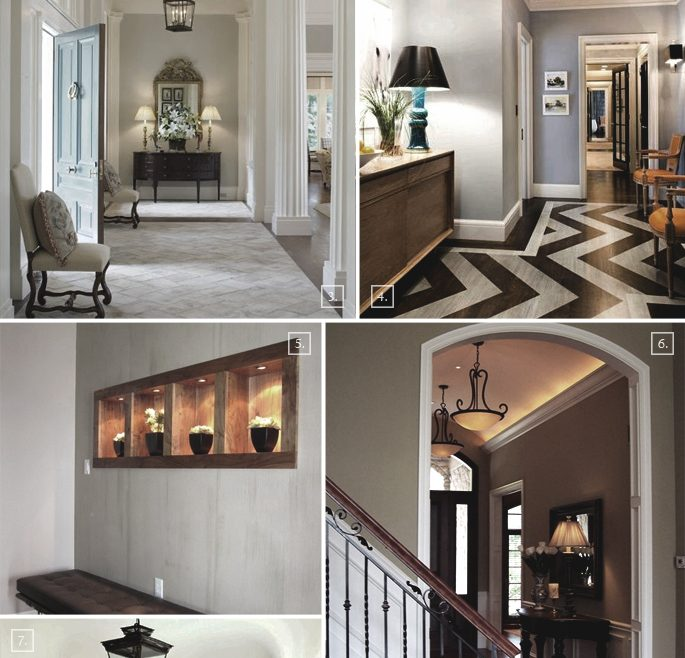 Captivating Small Space Lighting Of Entry Foyer Ideas: For Large And Spaces