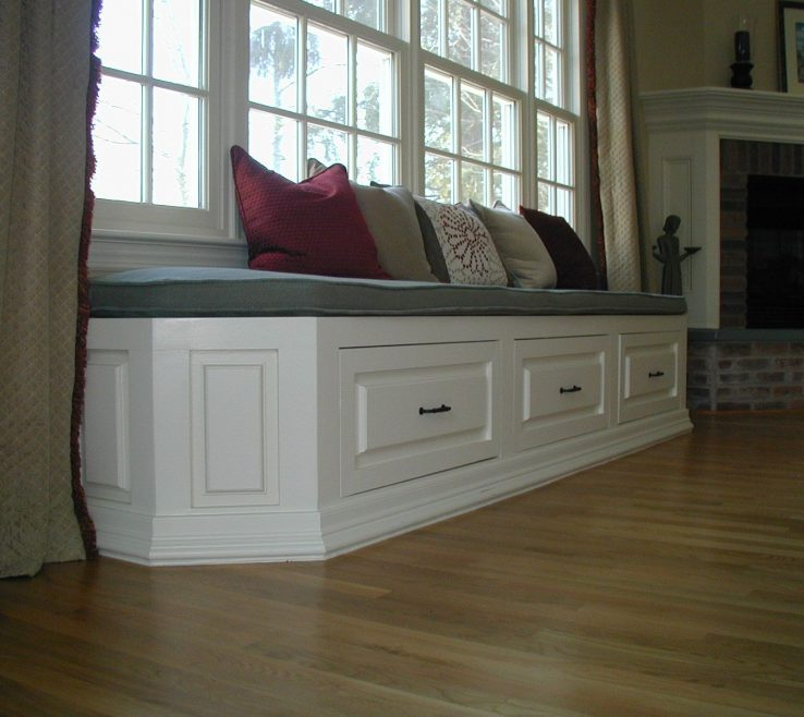 Captivating Under Window Seat Storage Of Diy Directions For A Image Is Not