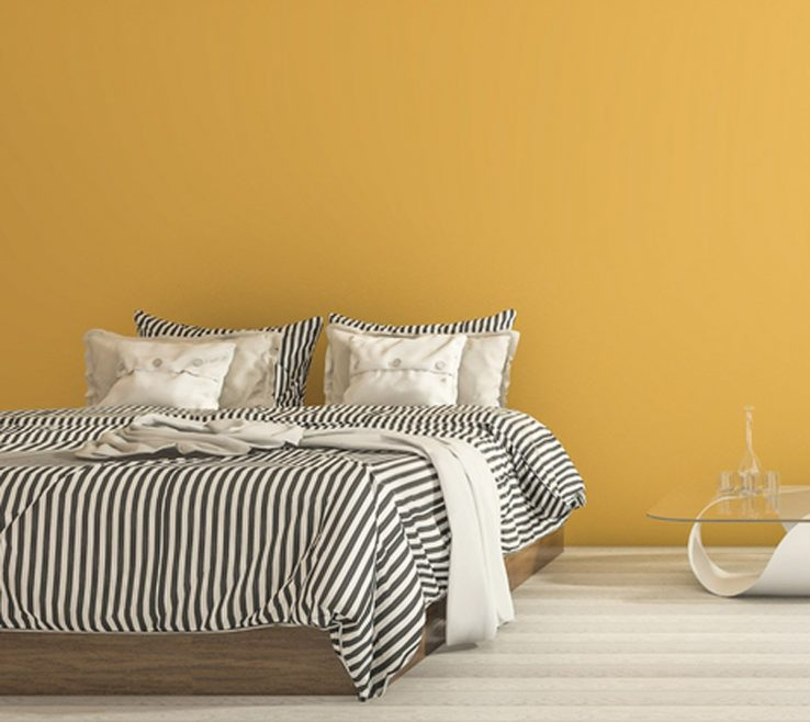 Charming Bed Trends Of Vibrant Yellows