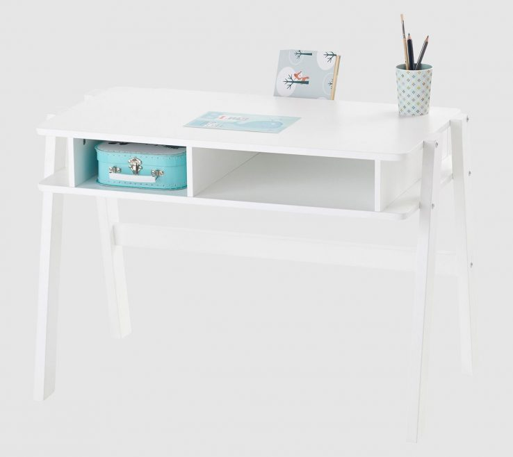 Charming Child Size Desk Of Ultra Functional With Lots Of Handy Slots