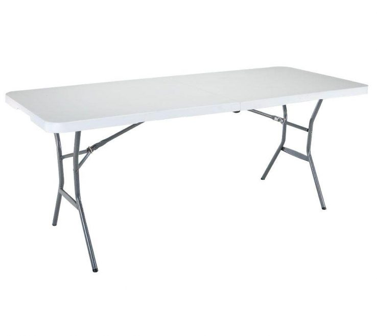 Charming Design Folding Table Of White Granite Fold In Half