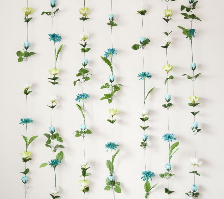Charming Flower Wall Decorations Of Diy Headboard Could Do This By My
