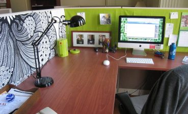 Charming Home Office Decoration Ideas Of Impressive Desk Decor On Interior Design