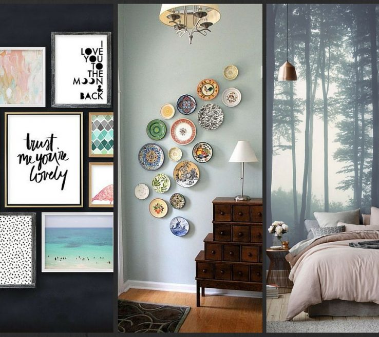 Charming How To Decorate Wall