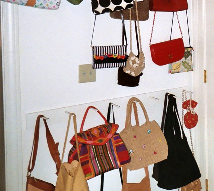 Charming How To Organize Pocketbooks Of Storage For Bags/purses