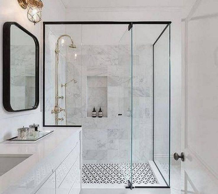 Charming Modern Bathroom Shower Of Elegant And Tile Master Bath Ideas(30)