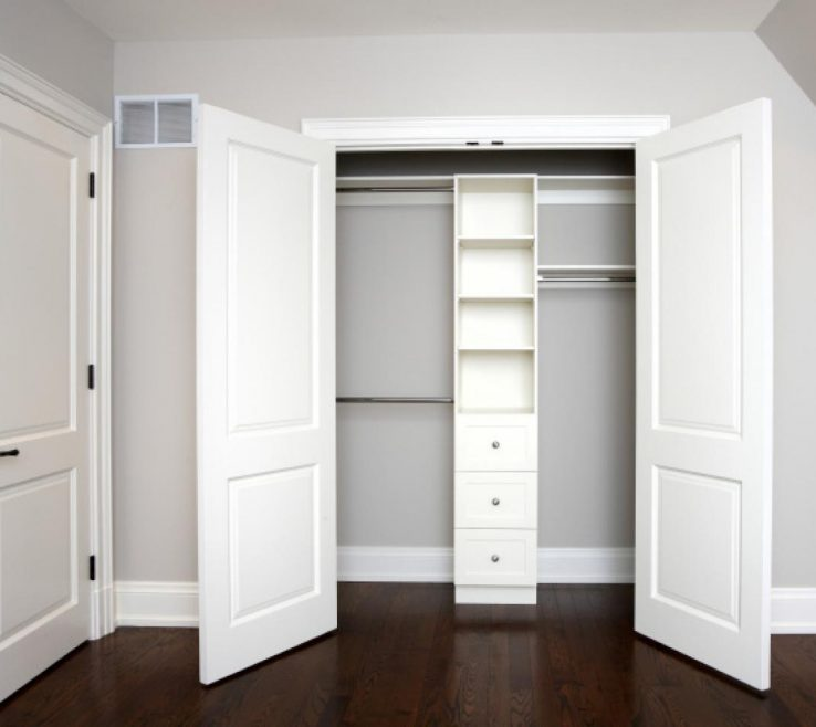 Charming Modern Closet Doors Of Bypass Open