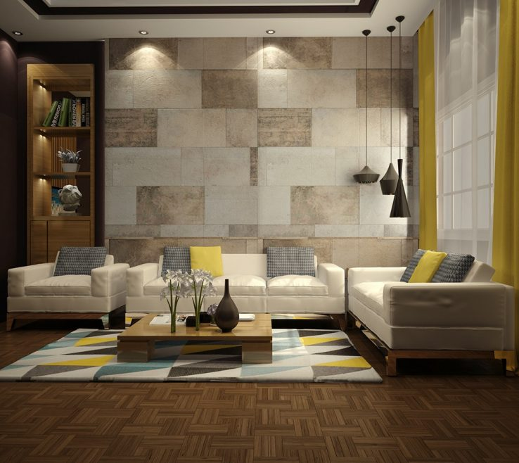 Charming Tiles For Interior Walls Of Best Wall Living Room