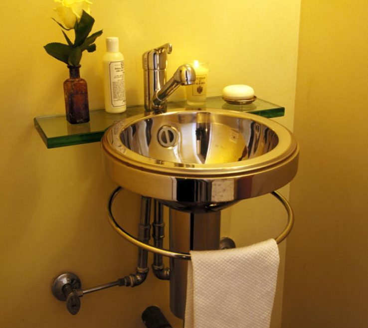 Charming Yellow Bathroom Paint Ideas Of Minimalist Modern Powder Room