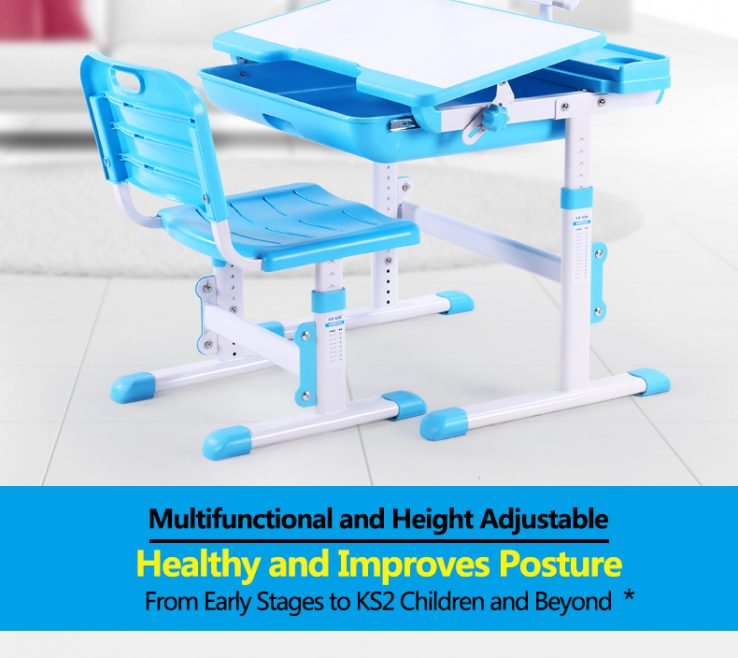 Child Desk Height Of Kids Table Chair Children Study Desk School Desk