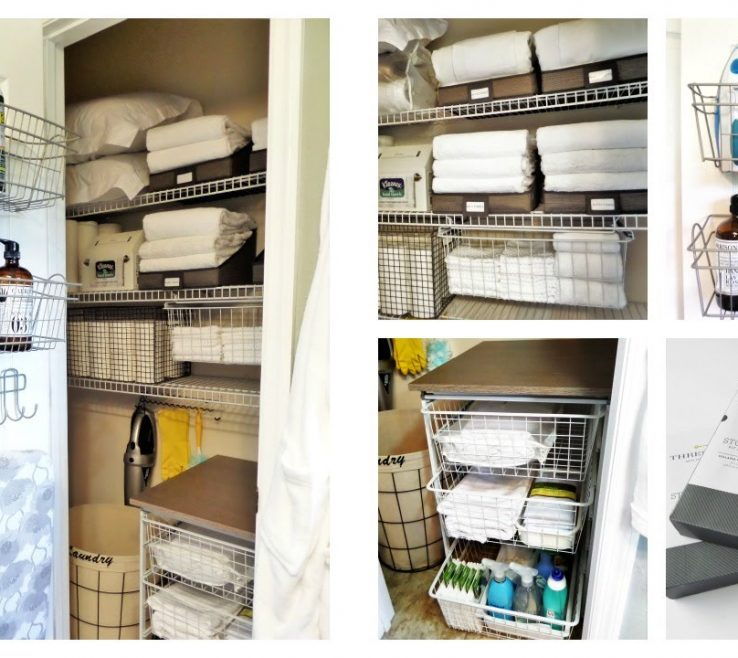 Closets Organization Ideas Of Linen Closet | Dollar Tree + Target