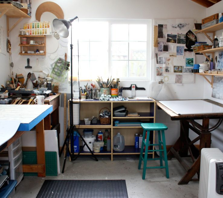 Cool Art Studio Ideas Of Lisa Kairos Tic Painter
