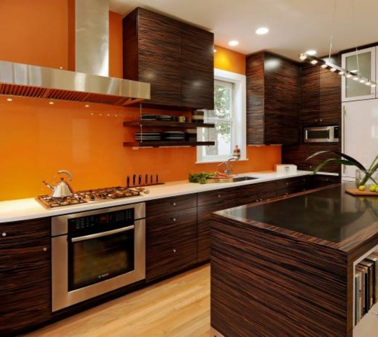 Cool Burnt Orange Kitchen Decor Of And Brown Island Design Ideas Pictures Tips