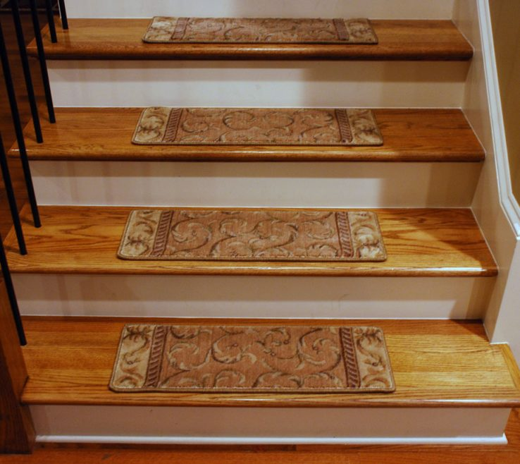 Cool Cheap Stair Tread Ideas Of Treads Carpet Design