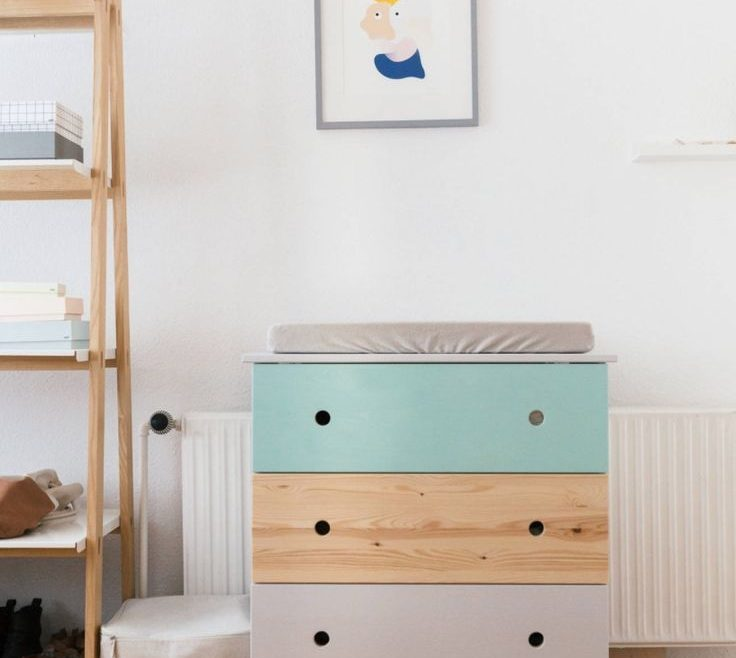 Cool Chest Of Drawers For Nursery Of Mommo Design Hacks In The Tarva