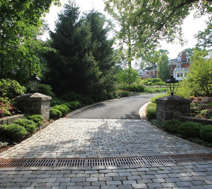 Cool Driveway Entrance Ideas Of Image Of Pictures Of Entrances Summit Nj