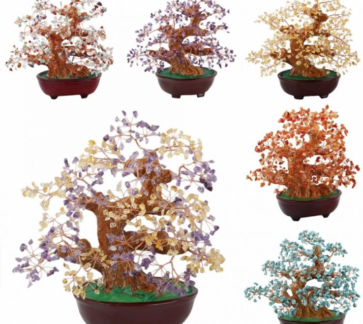 Cool Feng Shui Stones For Wealth Of Tumbeelluwa Natural Citrine Amethyst Carnelian Money Tree