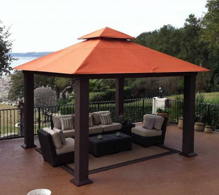 Cool Outside Canopy Ideas Of Magnificent Outdoor Patio Idea With Seating Area