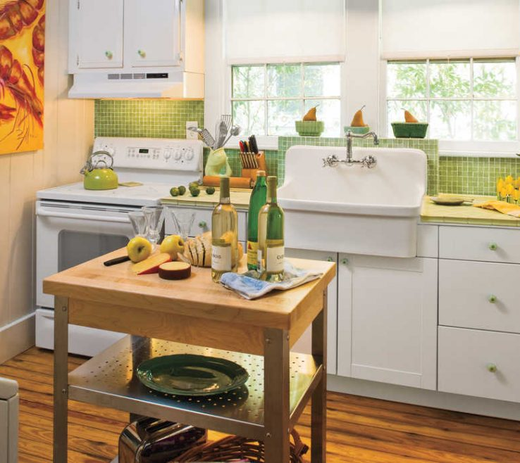 Cool Retro Decorating Ideas Of Stylish Vintage Kitchen Southern Living Tips Spcms