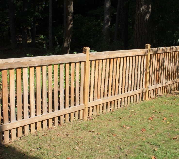 Cool Wood Fence Designs Of Fences Pany