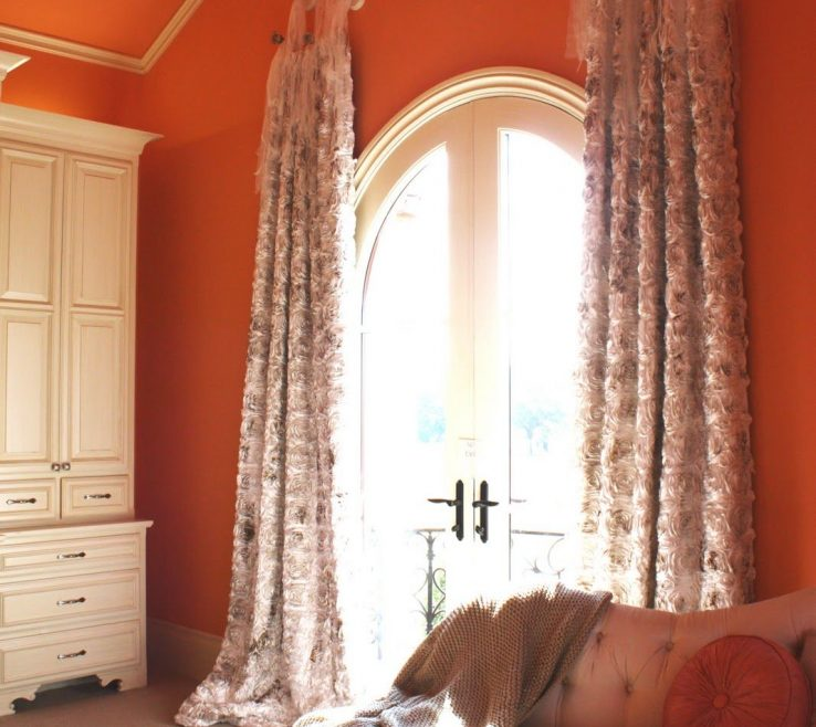 Curtains With Orange Walls Of Be Sure To See Our Adorable Kids