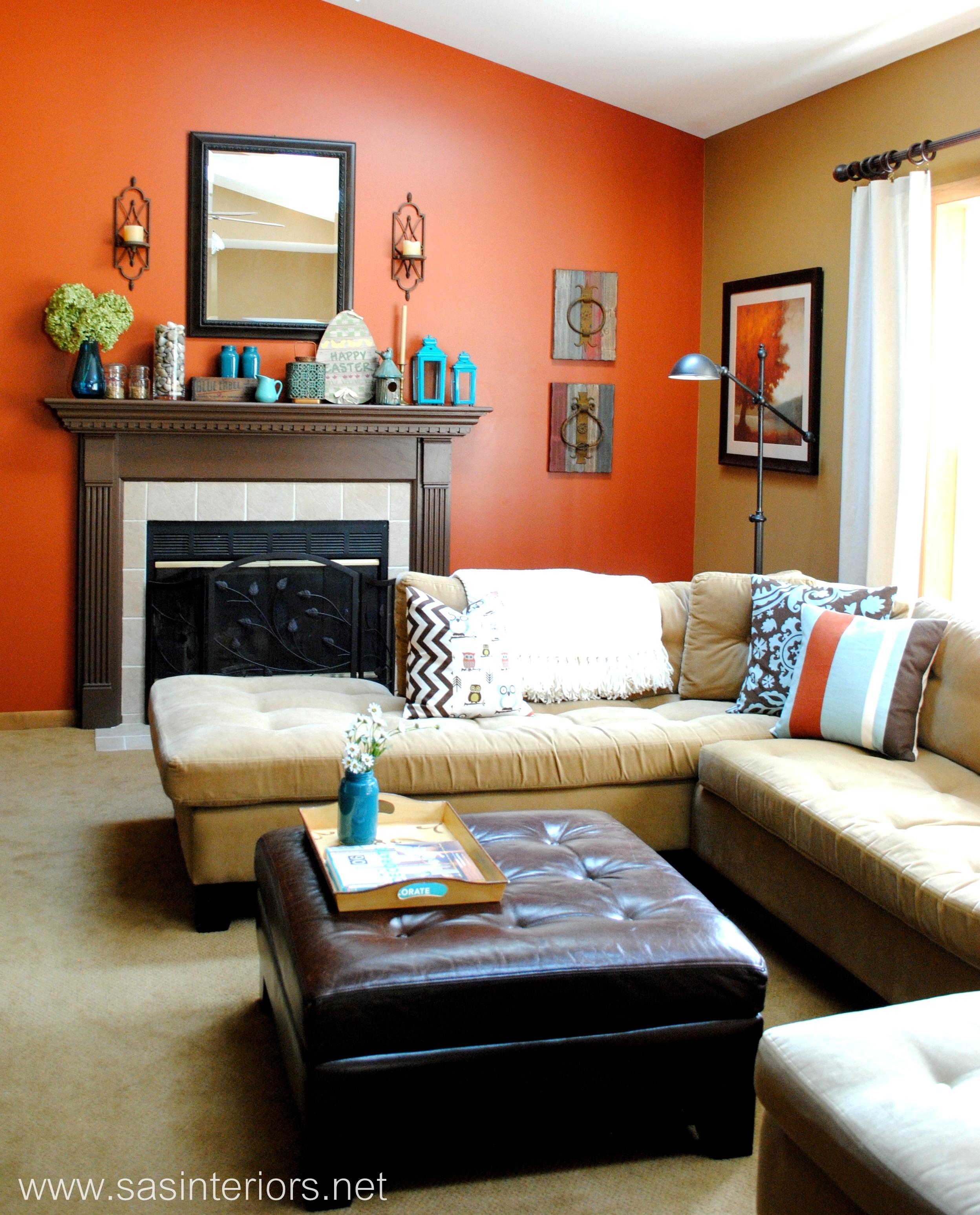 Curtains With Orange Walls Of Splendid Ideas Burnt Paint Burnt Living Room