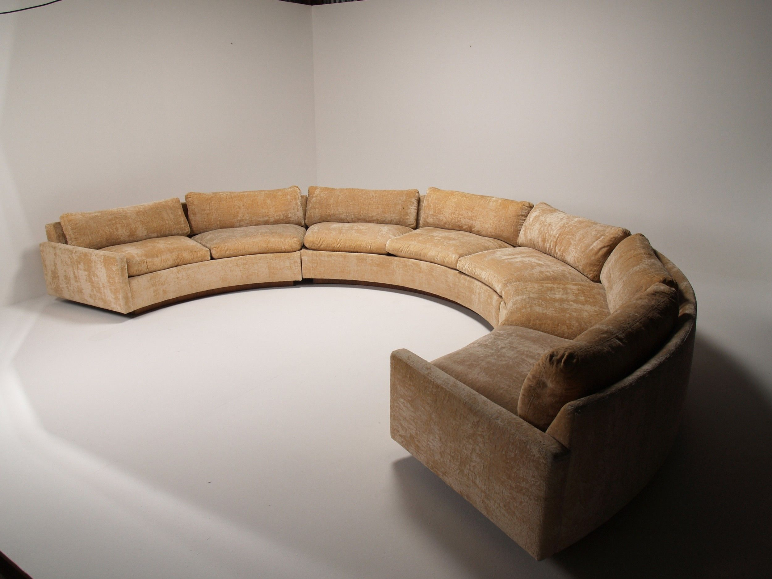 Curved Modern Sofa Of Awesome Tufted , Awesome Tufted 61