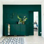 Dark Green Living Room Of Furniture
