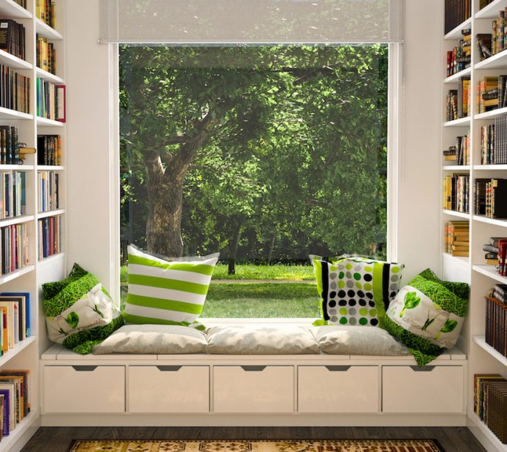 Decorating A Reading Nook Of Dreamy Nooks For Every Type Of Space