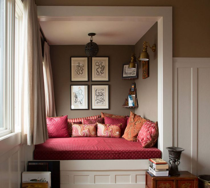 Decorating A Reading Nook Of How To Design A Reading Nook For Poetic
