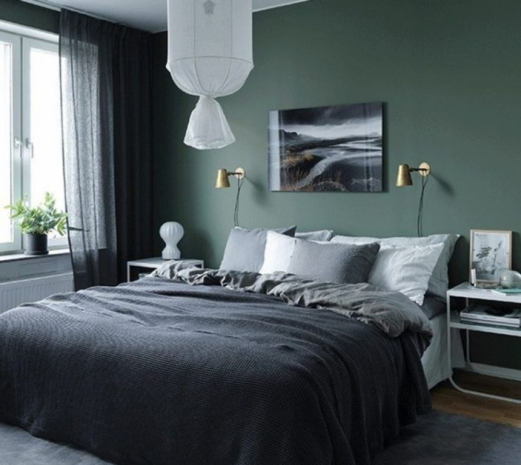 Decorating With Green Of Bedroom Walls Ideas Style Guide Bedroom Ideas