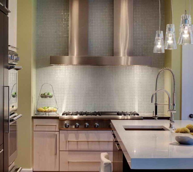 Designer Kitchen Backsplash Of Wallpaper Behind Stove Contemporary Wallpaper Plete