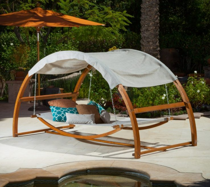 Diy Outdoor Daybed With Canopy Of Outdoor:furniture Stunning Red Bed Designs Tierra Este