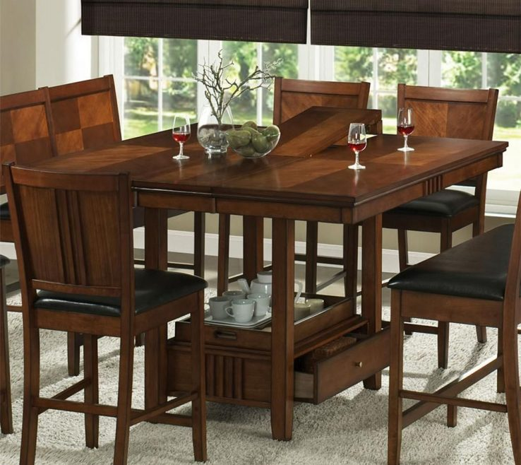 Diy Small Kitchen Table Of Storage Space Dining With Island Storage