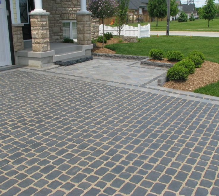 Driveway Entrance Ideas Of Exteriorattractive Landscaping A Decor With Stone Garden
