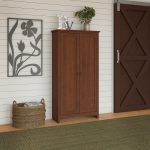 Elegant Cherry Doors Of Shop Buena Vista Tall Storage