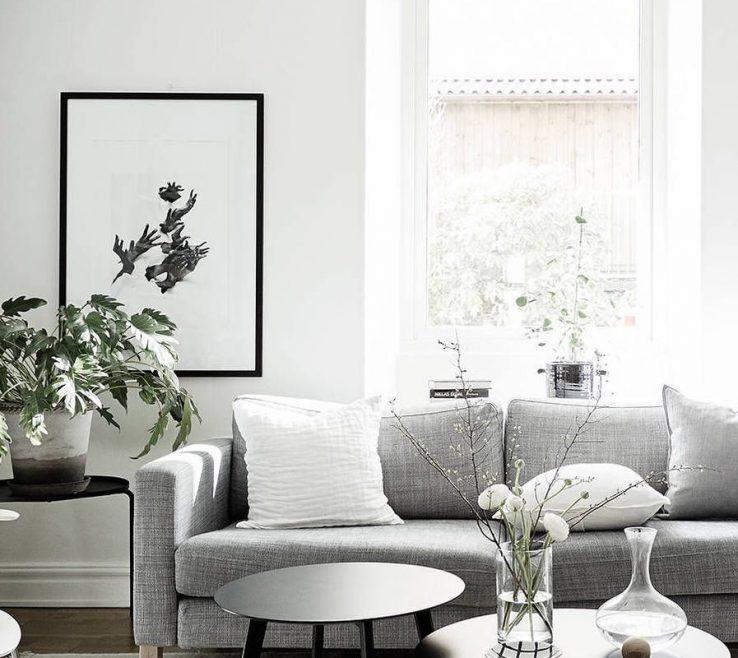 Elegant Cozy Home Decor Of With Black Accents Via Coco Lapine