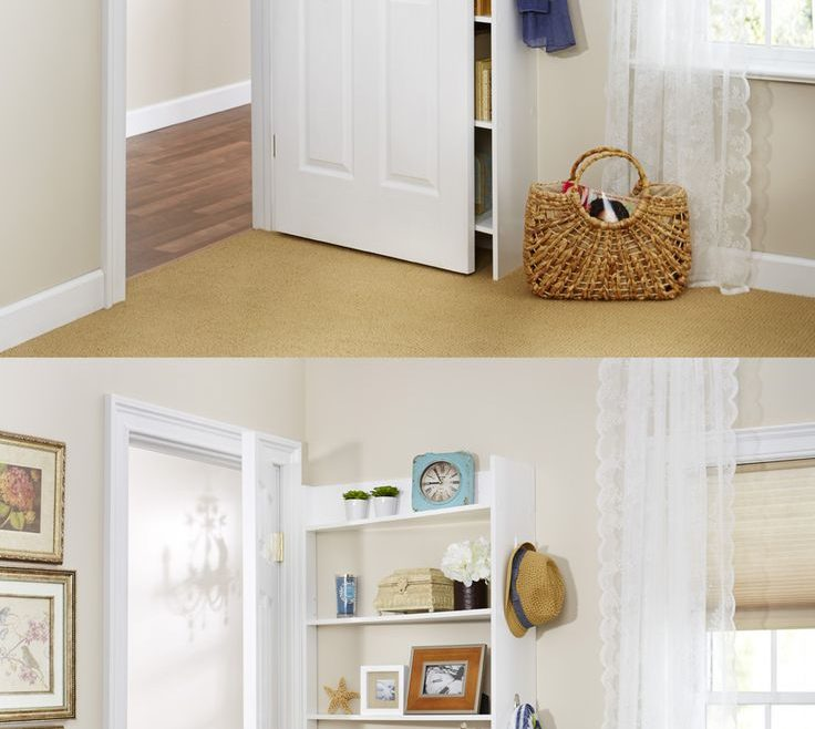 Elegant Decorate Bedroom Door Of Hide Behind The Shelving System By Foremost