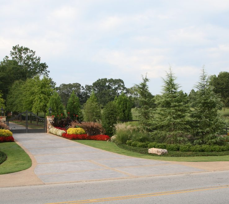 Elegant Driveway Entrance Ideas Of Landscaping Designs Country Entry Pictures