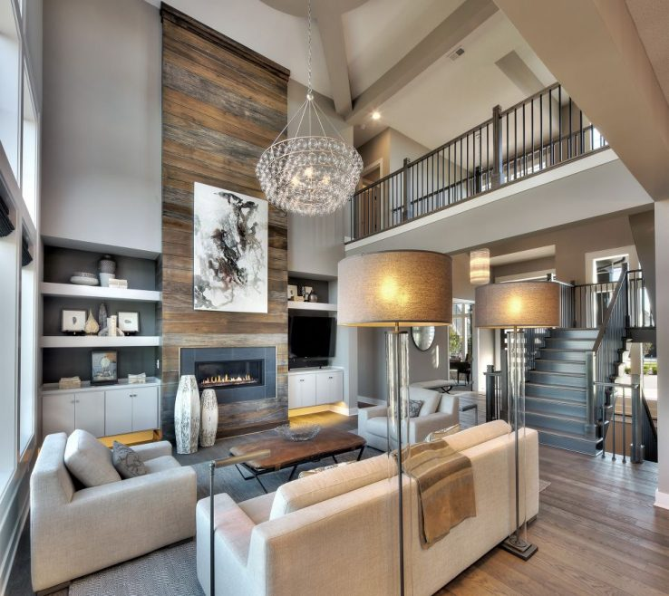 Elegant Family Rooms With Fireplaces Of Living Room:ellegant Two Story Living Room Decorating