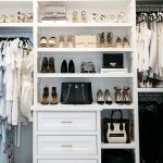 Elegant Master Bedroom Closet Designs Of Reveal Bench With Shoe Cubbies