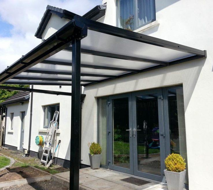 Elegant Outside Canopy Ideas Of Patio Door
