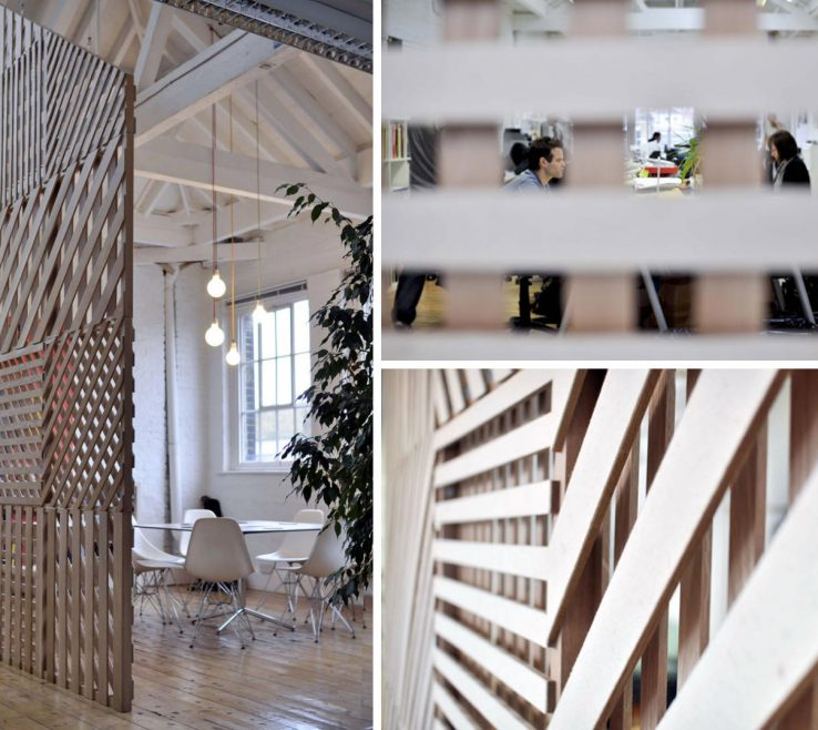 Elegant Partition Wall Ideas Of Meeting Space By Richard Shed Studio
