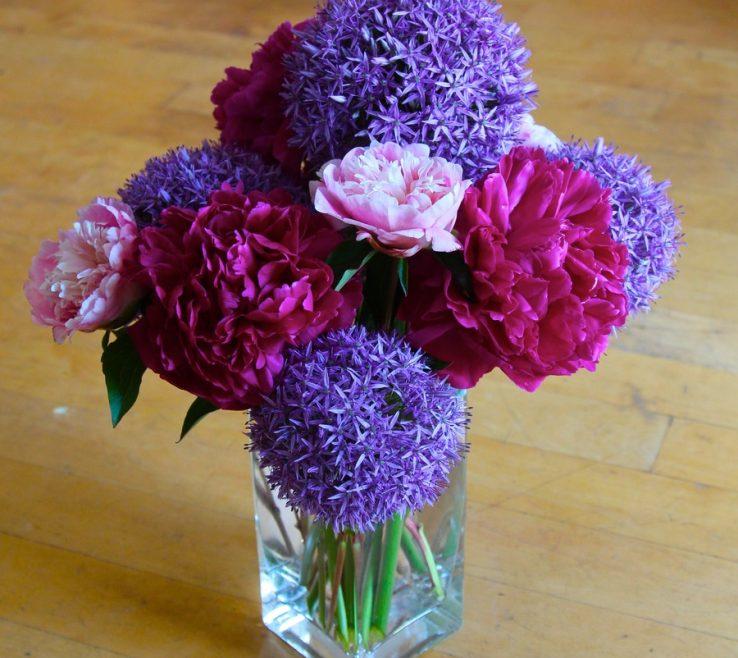 Elegant Peony Flower Arrangement Ideas