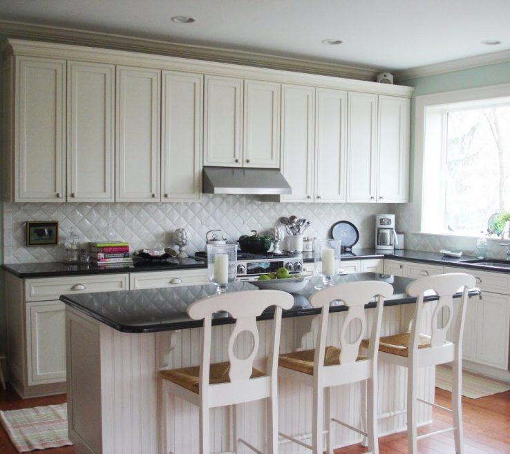 Elegant Red White And Black Kitchen Tiles Of Glass Tile Backsplash Home Design Ideas